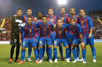 「Levante UD」をスポンサー<br>その後LFPの1部に復帰